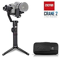 Deals on Zhiyun Crane 2 3-Axis DSLR Camera Gimbal Stabilizer
