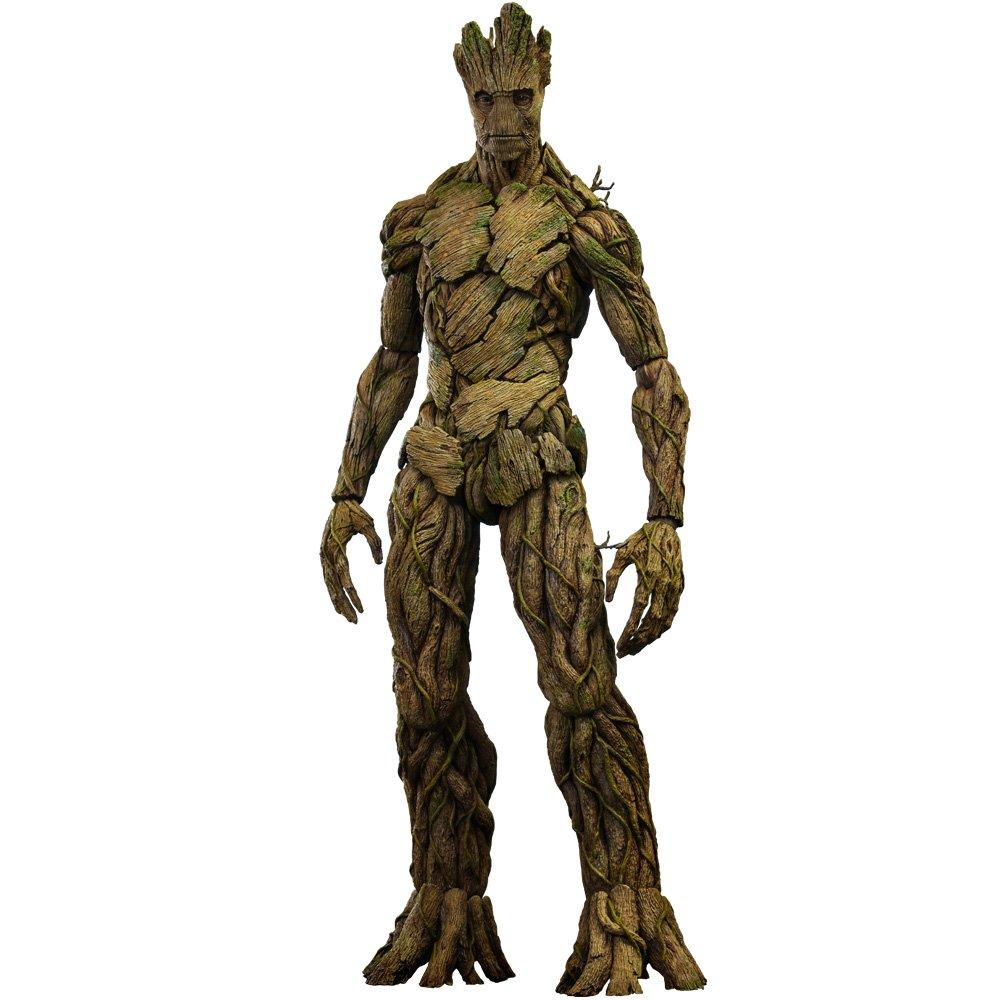 Figura Estatua Guardianes Galaxia Groot 39 cm