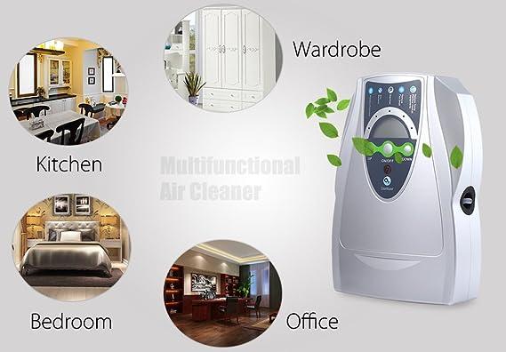iGarden 500 ml Purificador de aire ozono Disinfector para casa ...