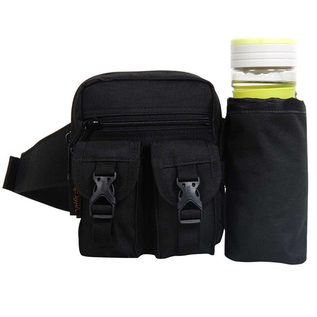 MEI XU Outdoor Sports Taschen Multifunktions Wasser Tasse Tasche 900D Wasserdicht Lauf Radfahren Bergsteigen Tourismus Armee Fan Taktische Tasche 5L 2 Farben Optional @