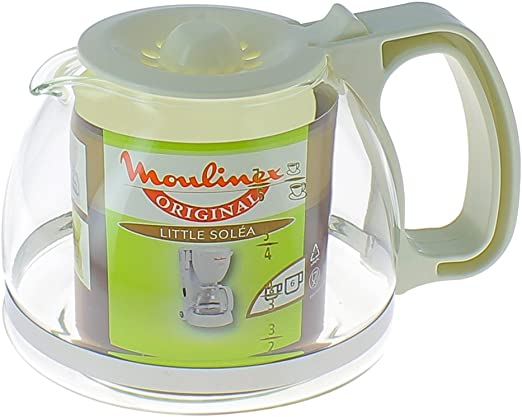 Moulinex Soleá - Jarra para cafetera, color blanco: Amazon.es