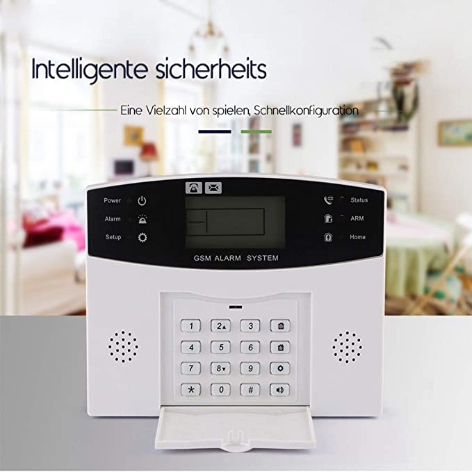 SOBER Sistema Alarma Antirrobos gsm/WiFi InaláMbrico ...