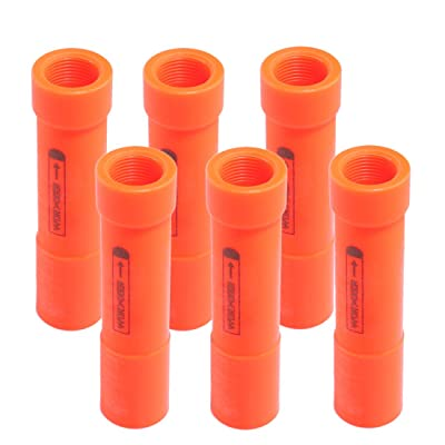 PeleusTech Dart Barrel, Worker 6PCS Modify Switch Barrel Accessories for Nerf N-Strike Elite Mega Series Blaster Cyclone Shock A9353: Toys & Games