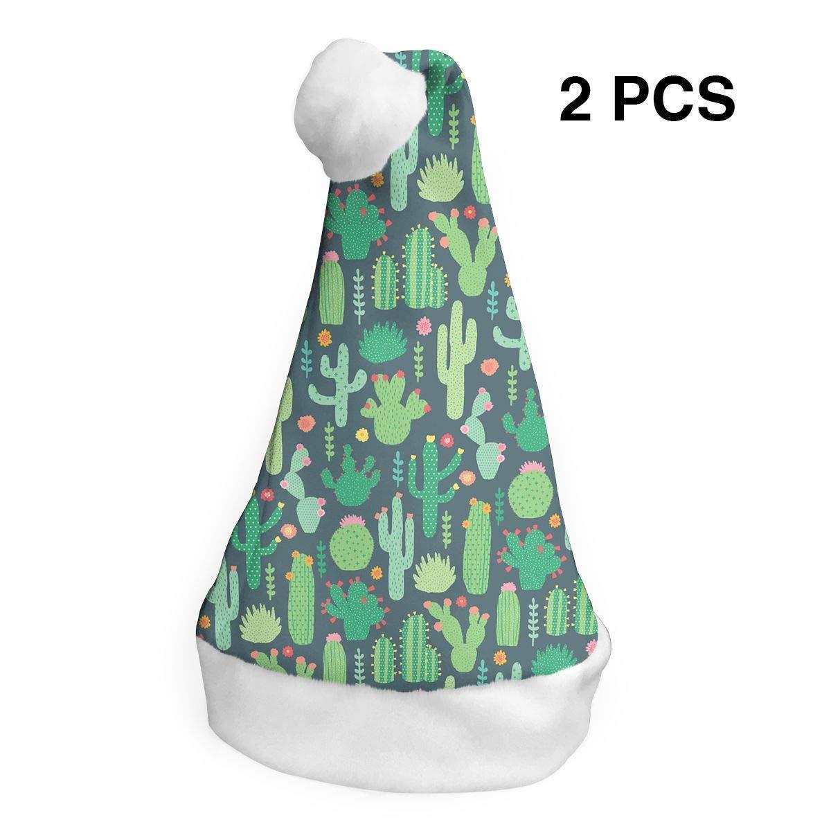 Papá Noel sombrero Cactus Merry Navidad sombreros adultos niños ...