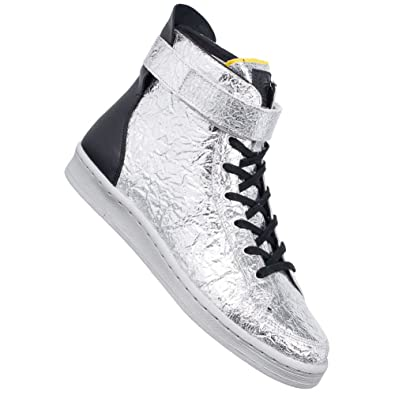 79388b47bd96 adidas Men s Slvr Cupsole High Trainers Silver Silver  Amazon.co.uk ...