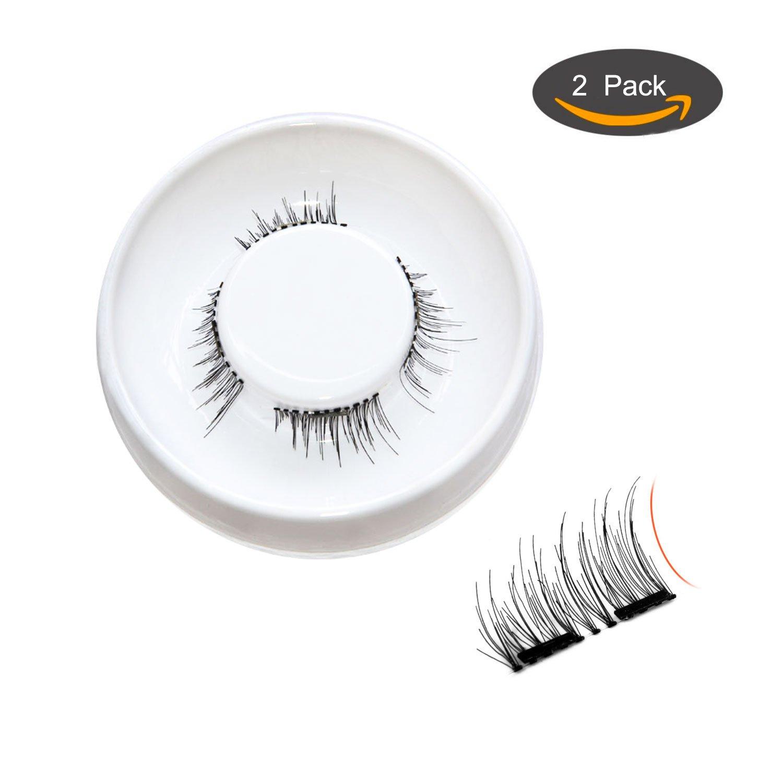 Amazon Dual Magnetic Eyelashes Fake Eyelashes For Volume And