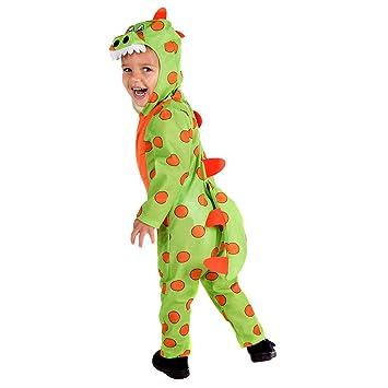 Fun Shack Verde Dinosaurio Disfraz para Niños y Niñas - S: Amazon ...