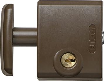 Abus FTS 3002 B C - Cerrojo de presión para ventana o puerta corredera marrón blister: Amazon.es: Bricolaje y herramientas