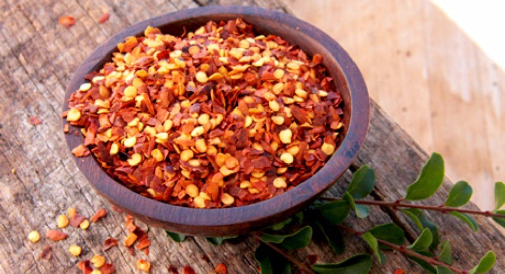 CHILLIES - CRUSHED- 4.994lb
