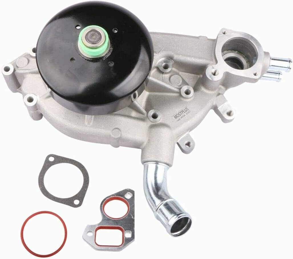MOSTPLUS Water Pump w//Gasket Compatible with Buick Chevy Tahoe GMC Yukon Cadillac 4.8L 5.3L 6.0L Replaces 130-7341 130-7320 130-7340 AW5087
