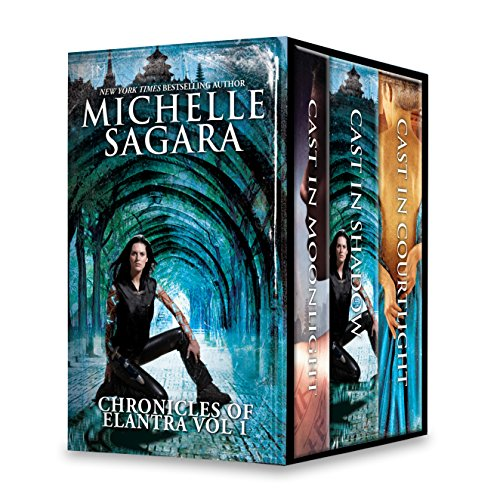 Michelle Sagara Chronicles of Elantra Vol 1: Cast in Moonlight\Cast in Shadow\Cast in Courtlight