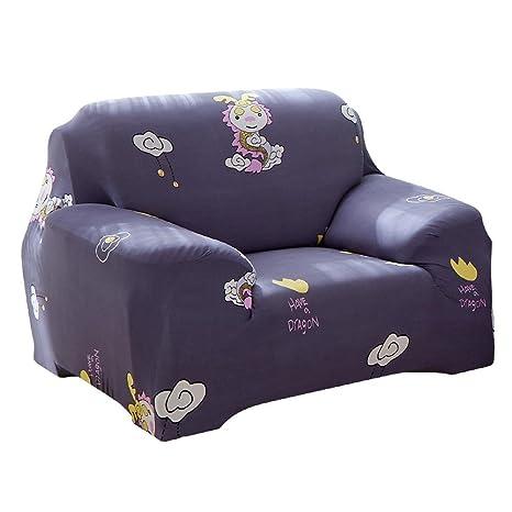 Prosperveil - Funda de sofá elástica con Estampado de ...