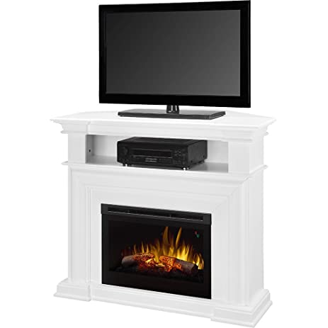 Amazon.com: Dimplex Colleen Corner TV Stand with Electric ...