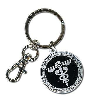 Psycho Pass Public Safety Bureau Logo Llavero: Amazon.es ...