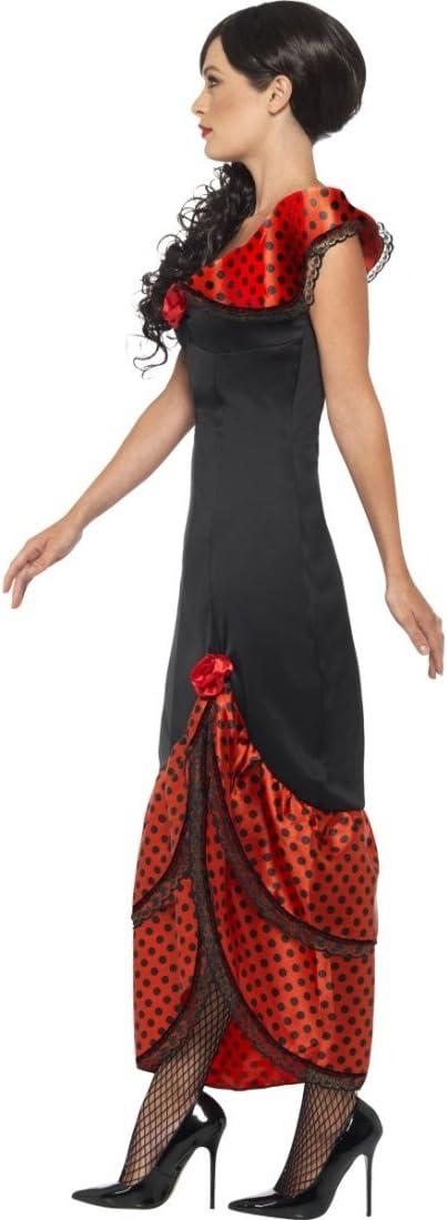 Traje típico español Vestido Flamenca Carmen M 40/42 Ropa bailaora española Caracterización Carnaval Mujer Outfit señorita Atuendo Andaluz: Amazon.es: Juguetes y juegos