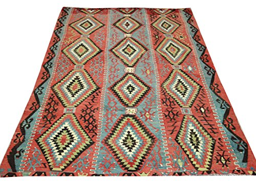 Decorative Vintage Kilim rug 8,9x5,7 feet Area rug Old Rug Bohemian Kilim Rug Floor rug Sofa Decor Rustic Kilim Rug