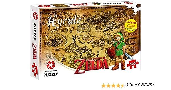 ZELDA 599386031 - Puzzle The Legend of Hyrule (500 Piezas): Amazon.es: Juguetes y juegos
