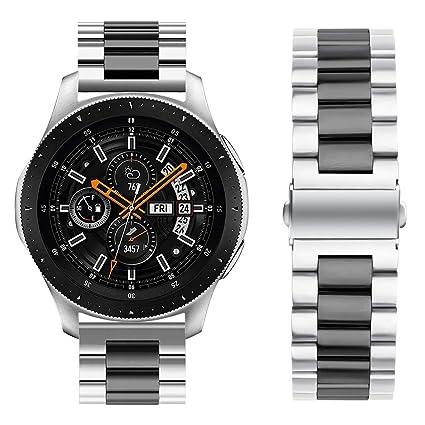 Amazon.com: Oitom - Correa de acero inoxidable para reloj ...