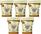 Spectrum Ground YPtiU Flaxseed, 24 Ounce (5 Pack)