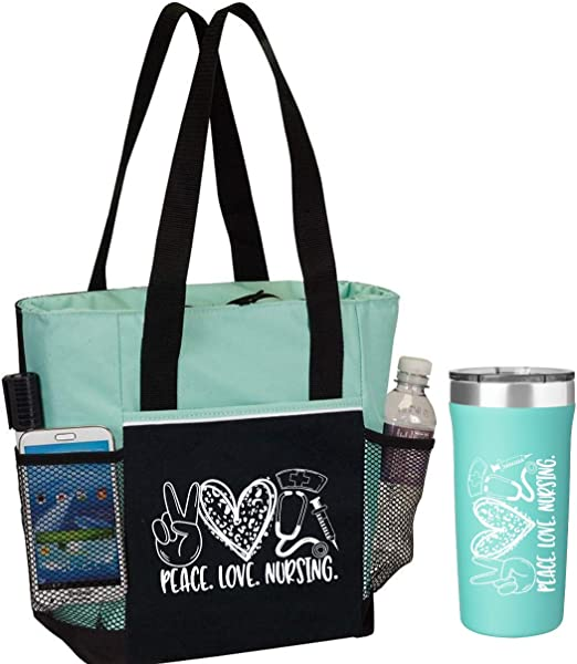Eco Friendly Thank A Nurse Tote Bag