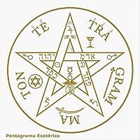 Placa Radiônica Pentagrama Esotérico