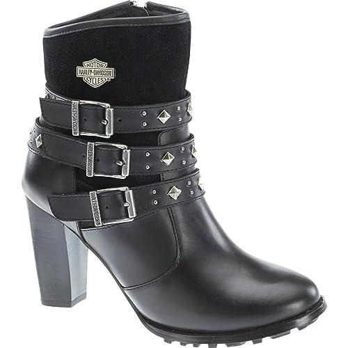 Harley-Davidson - Harley davidsonabbey - Botines Camperos - Black: Amazon.es: Zapatos y complementos