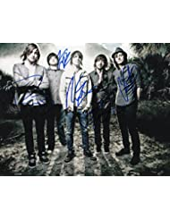 Framing Hanley Signed Promo 8x10 By All Members