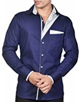 Dazzio Men's Slim Fit Cotton Shirt