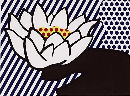 Roy Lichtenstein Giclee Canvas Print Paintings Poster Reproduction (Water Lily)