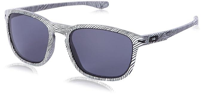 Oakley Enduro, Lunettes de Soleil Mixte Adulte, Blanc, 55  Oakley ... 3b0b428b2d95