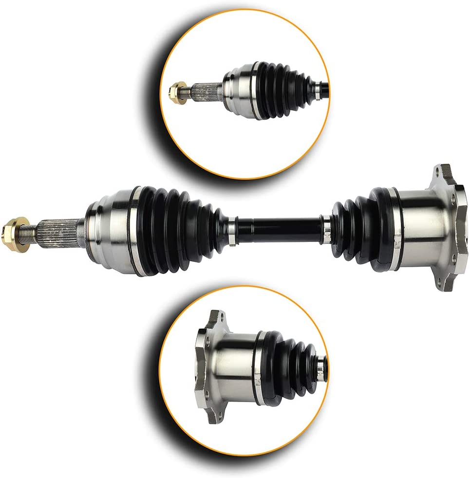 CCIYU CV Axle Shaft Assembly fits for Front Left Right 1999 2006 for Cadillac Escalade ESV EXT for Chevy Avalanche 4.3L 4.8L 5.3L 6.0L 6.2L
