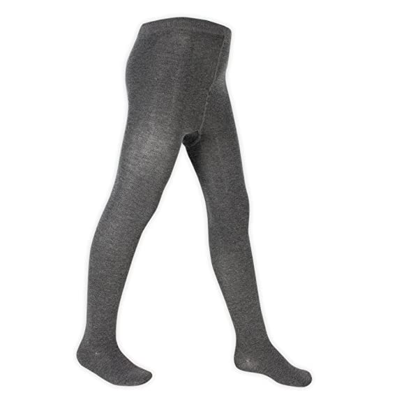 4 Pairs of Girls Supersoft Cotton-Rich Tights 9-10 Years, Burgundy