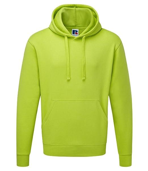 Russell Athletic - Sudadera con capucha - para hombre Multicolor verde lima Large: Amazon.es: Ropa y accesorios