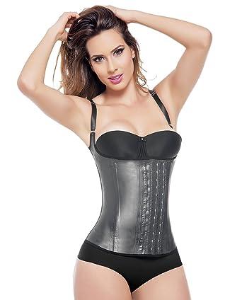 a3e14d86f32 Amazon.com  Ann Michell Vest Strap Latex 3 Hook Vest Waist Cincher ...