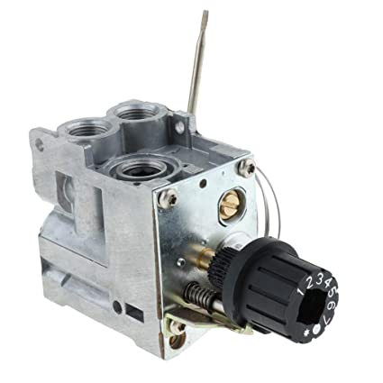 Homyl Válvula de Control Termostático Botón de Gas Agua Piezas de ...
