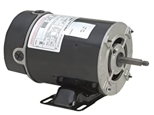 A.O. Smith BN24V1 3/4 HP, 3450 RPM, 1 Speed, 115 Volts, 9.8 Amps, 1 Service Factor, 48Y Frame, PSC, ODP Enclosure, Rigid Base Pool Motor