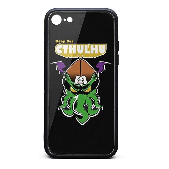 fb39044b521da Amazon.com: iPhone 7/8 Case Deep sea Octopus Play Football Slim ...