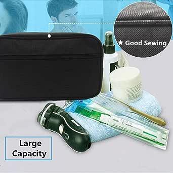 Toiletry Bag Portable Travel Shaving Dopp Kit Canvas Organizer Wash Bag for Men and Women