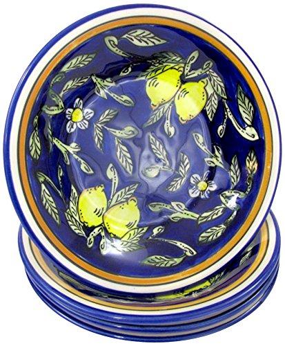pasta bowl set stoneware - 9