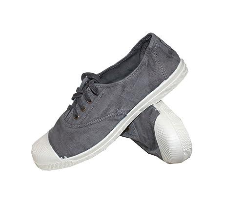 Natural World Zapatillas deportivas mujer Ingles Elastico Enz - Dernières pares, (102-gris), 40: Amazon.es: Zapatos y complementos