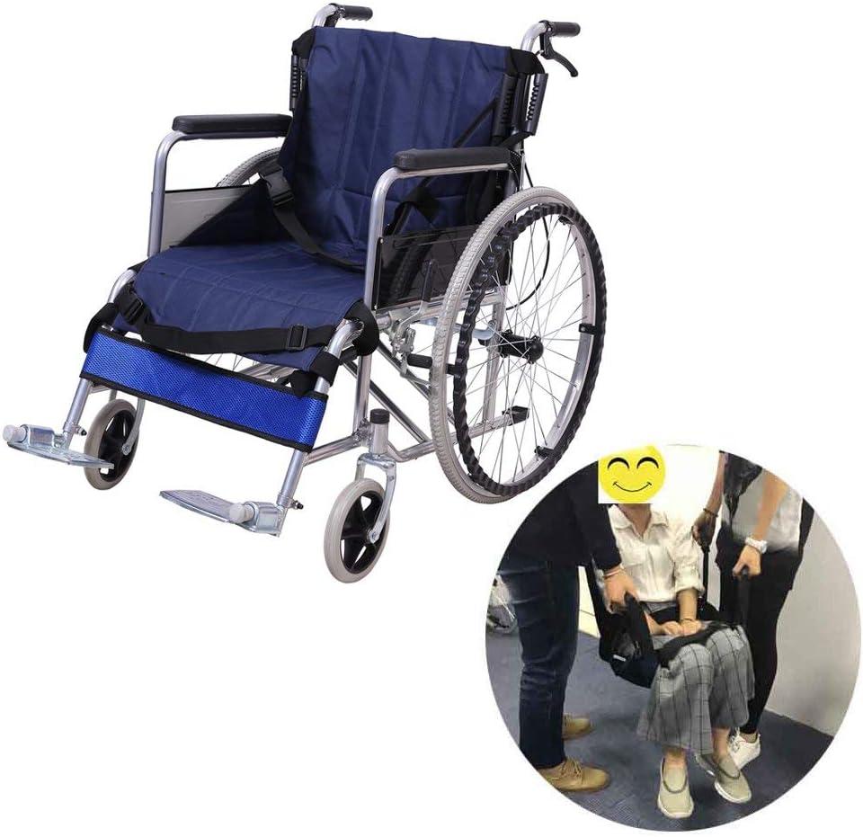 Correa Silla de ruedas Elevador pacientes Deslizamiento Tabla Transferencia Silla Cinturón Seguridad todo el cuerpo Elevación médica Cabestrillo deslizante para personas mayores discapacitados 4 asas