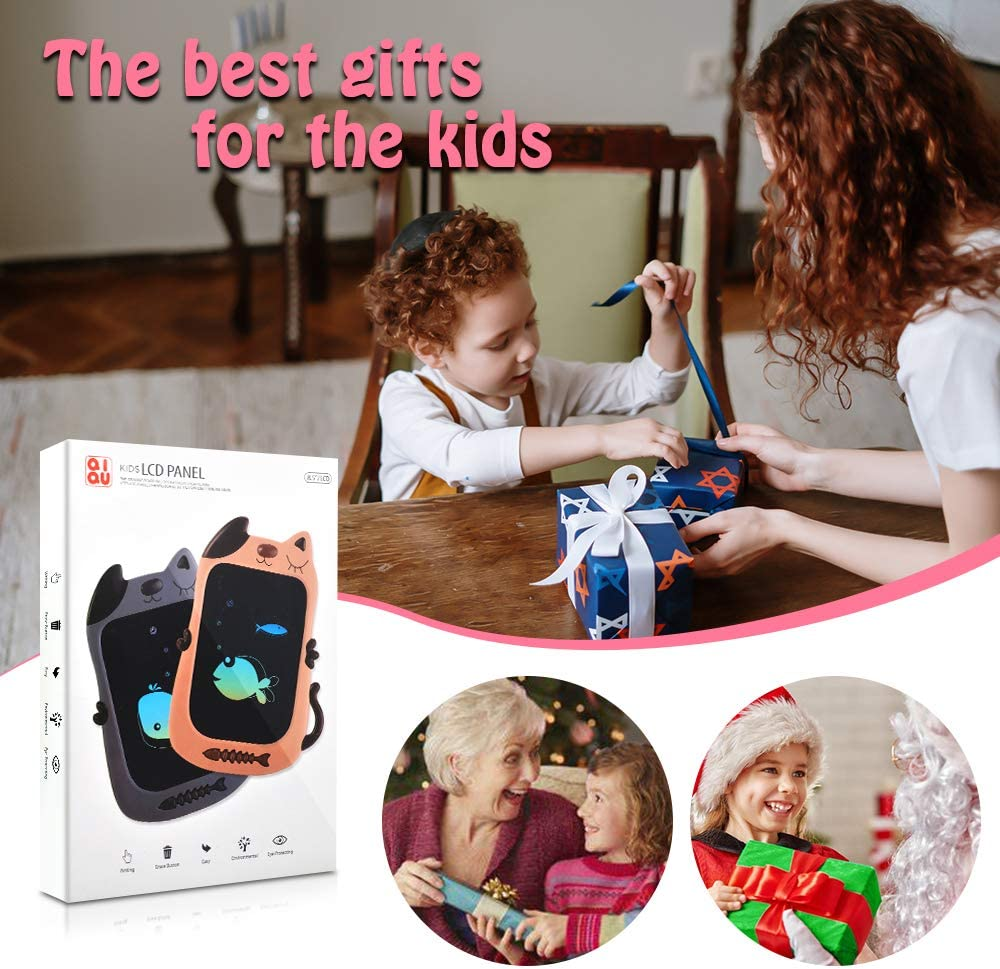 KIMMI LCD Writing Tablet for Kids Colorful Drawing Tablet Best Gift for Boys /& Girls