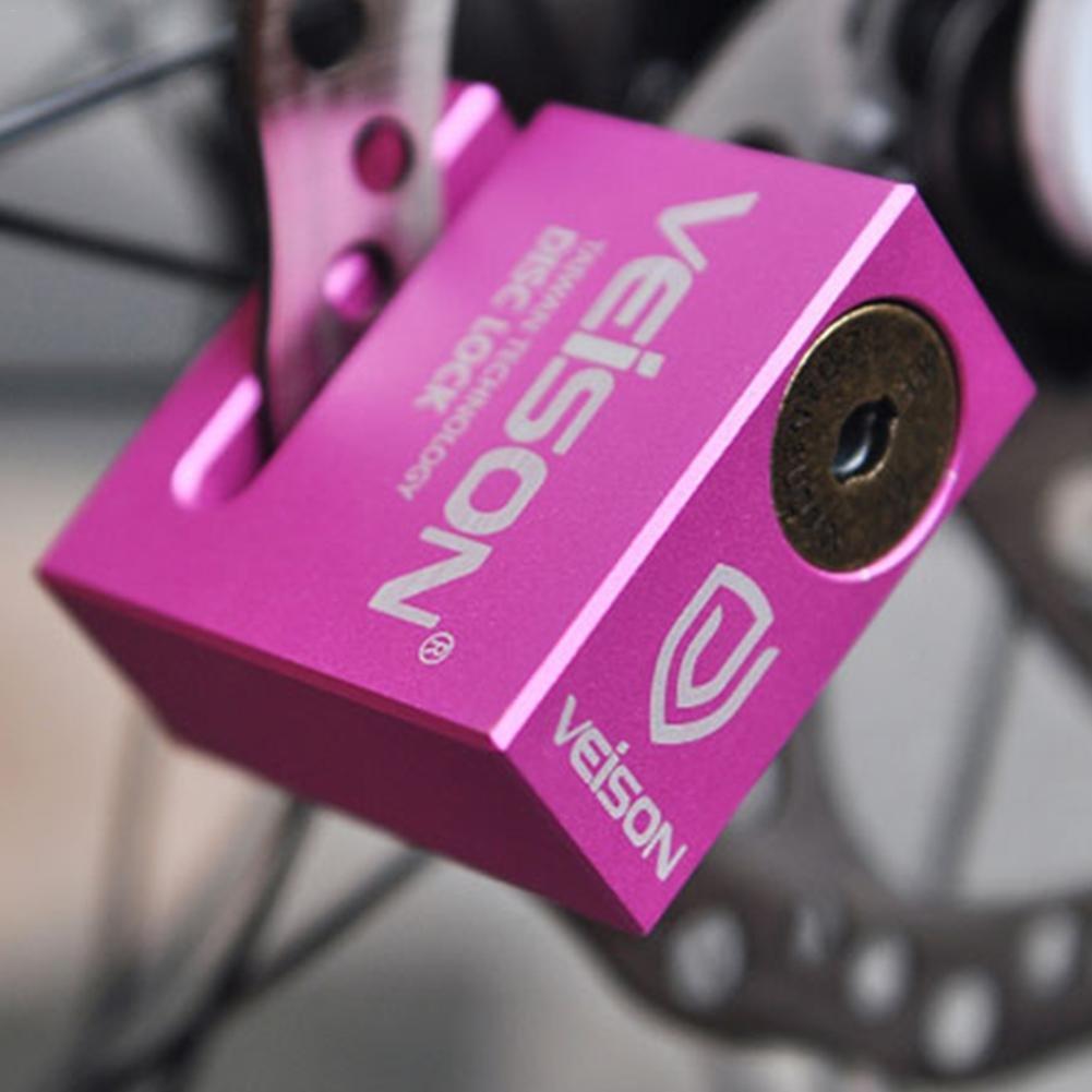 Ya-tube VEISON Motorcycle Disc Brake Lock, Anti-Theft Waterproof Disc Lock Bullet Lock Core Design