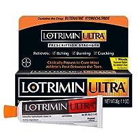 Lotrimin Ultra 1 Week Athlete's Foot Treatment, Prescription Strength Butenafine...