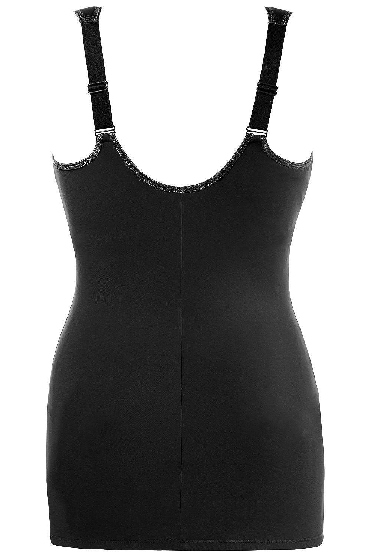 Shapewear Oberteil mit B/üste /& BH Ulla Popken Damen gro/ße Gr/ö/ßen bis 120 D 705635 Spitze /& Tailliert Bodyforming Top Unterhemd