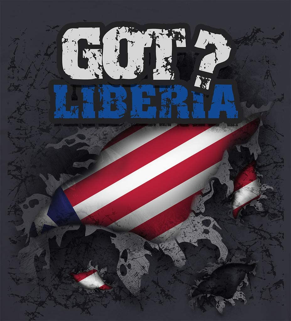 LIBERIA COUNTRY VINYL FLAG DECAL STICKER