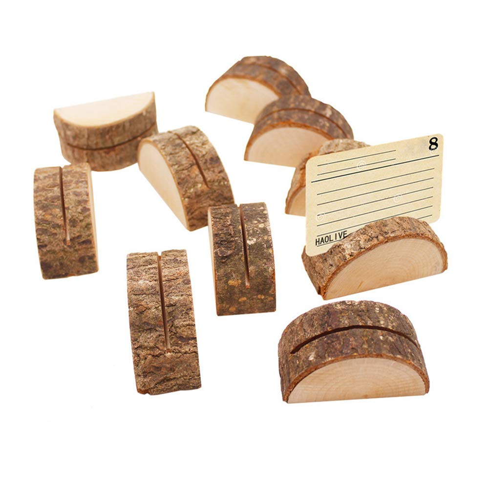 Ruiting Wooden Napkin Ring 10pcs Diy Craft Making Kits Wedding Party Table Ornament Wooden Napkin Holder Home Kitchen Tableware