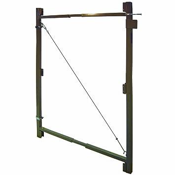 Fence Walk Through Gate Kit - Adjust-A-Gate Steel Frame No Sag Gate ...