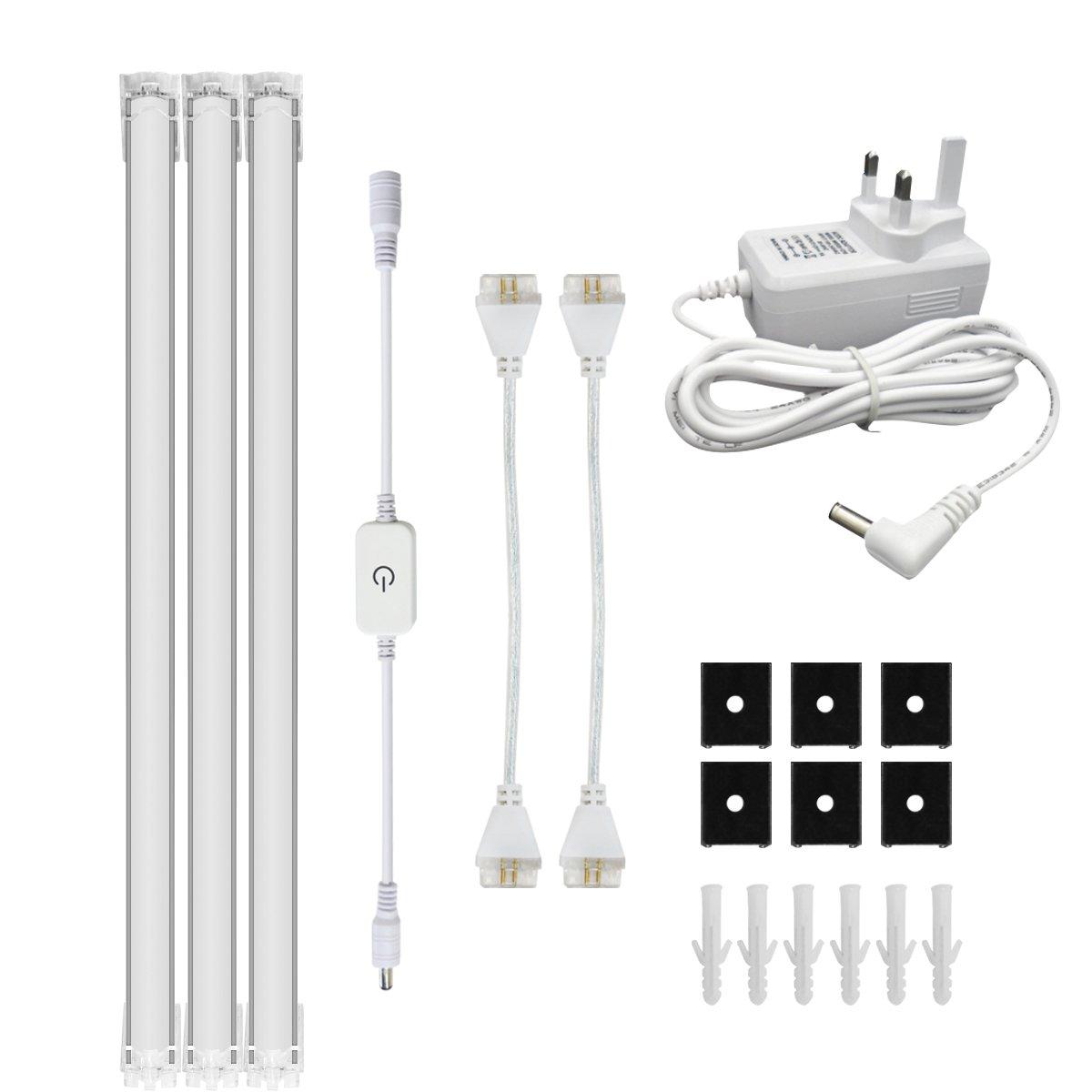 simpome LED Unter Schrank Licht Kit, dimmbar unter Zähler ...