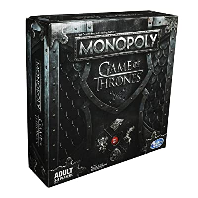 Hasbro Gaming Monopoly Game of Thrones Board Game for Adults: Toys & Games
